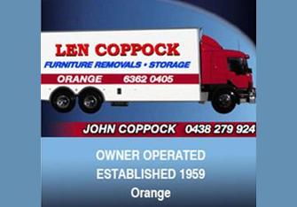 Len Coppock (central West – Orange)