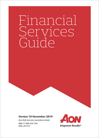 Aon Risk Services Financial Services Guide 10 November 2019